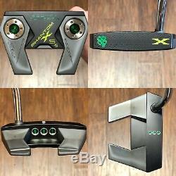 Scotty Cameron Phantom X 5.5 Putter Xtreme Charcoal Finish 4 Leaf Clover