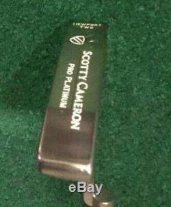 Scotty Cameron Pro Platinum 33 Newport 2 Putter
