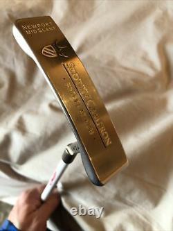 Scotty Cameron Pro Platinum Newport Mid Slant with LAGP 135g Putter Shaft