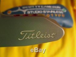 Scotty Cameron Prototype Putter Newport 2 Beach Center Shaft Brand New Titleist