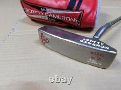 Scotty Cameron Putter CIRCA 62 No. 2 35inch with head cover USED from japan
