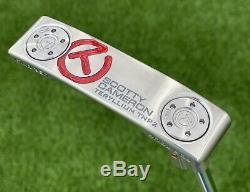 Scotty Cameron Rare T22 Newport 2 Raw 360G Circle T Putter