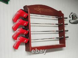 Scotty Cameron Studio Stainless First of 500 Putter set 4 with rack Brand New