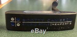 Scotty Cameron Studio Style Newport 2 Custom Flatt Black