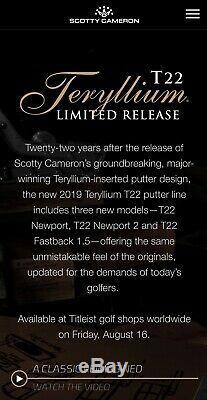 Scotty Cameron T22 Newport 2 35