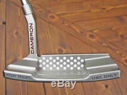 Scotty Cameron TOUR ONLY Newport 2 T22 Terylium CIRCLE T Silver SSS SIGHT DOT