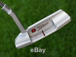 Scotty Cameron TOUR ONLY Timeless 2 Newport 2 T2 Circle T SSS 340G TIGER WOODS
