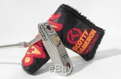 Scotty Cameron TOUR RAT Concept 2 R&D PROTOTYPE 350g Circle-T PUTTER withHeadcover