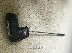 Scotty Cameron Tei3 Newport 35 GREAT Condition with NEW Grip with Headcover