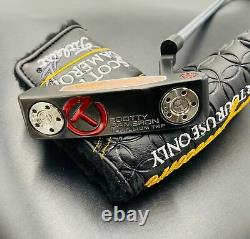 Scotty Cameron Teryllium Newport T22 Tour Use Only CT Black Putter 20g Weights
