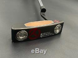 Scotty Cameron Teryllium Newport T22 Tour Use Only Circle T Black CT Putter