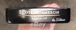Scotty Cameron Teryllium Santa Fe Putter New Tei3 Xtreme Dark Finish AC