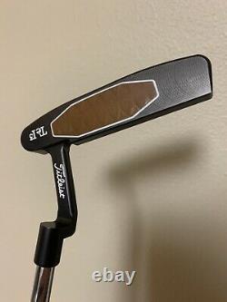 Scotty Cameron Teryllium T22 Newport TeI3 34 Putter Golf Club with Headcover