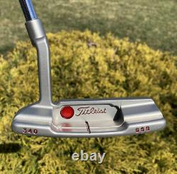 Scotty Cameron Timeless Newport 2 Circle T Tour Tiger Woods Style Putter -NEW