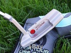 Scotty Cameron Timeless Newport 2 Tri-Sole GSS Tour Vertical Stamp TIGER WOODS
