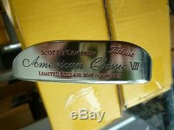 Scotty Cameron Titleist Napa Putter American Classic New With Headcover N Tool