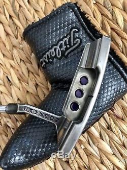 Scotty Cameron Titleist Newport 2 Putter 34 Custom Purple W Grip & Headcover