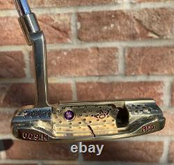 Scotty Cameron Tour Only 009M GARAGE Fancy Back Circle T Putter-NEW