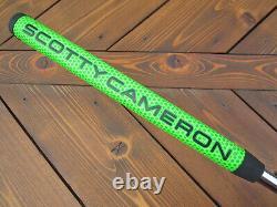 Scotty Cameron Tour Only Black M1 Mallet #1 Circle T Prototype TOP LINE 34 350G