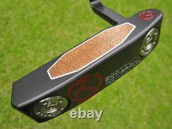 Scotty Cameron Tour Only Black T22 Newport Terylium CIRCLE T NAKED! 34 360G