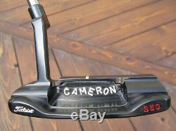 Scotty Cameron Tour Only CARBON Masterful 009. M Circle T JORDAN SPIETH 34 350G