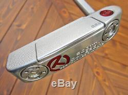 Scotty Cameron Tour Only GSS Newport 1.5 Select Circle T WELDED 2.5 NECK 350G