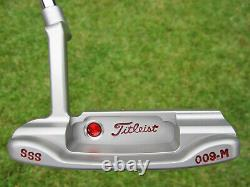 Scotty Cameron Tour Only SSS Masterful 009. M Circle T TIGER WOODS 34 350G