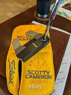 Scotty Cameron phantom x 5 putter, RH, 35 inches, with head cover