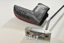 Titleist 2016 Scotty Cameron Select Newport M2 Putter 35 Right Steel # 68863