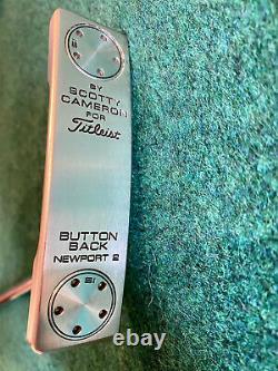 Titleist Scotty Cameron Button Back Newport 2 34 RH Putter