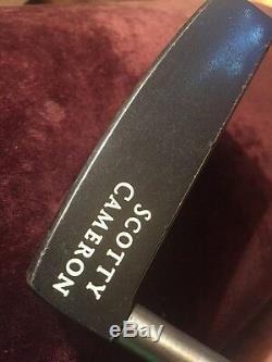 Titleist Scotty Cameron Classics Del Mar Putter RH 34 Pebble Grip ORIGINAL