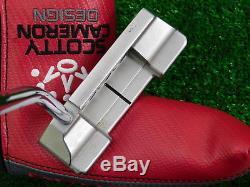 Titleist Scotty Cameron Custom 2016 Select Newport 2 Notchback DB 37 Putter w HC