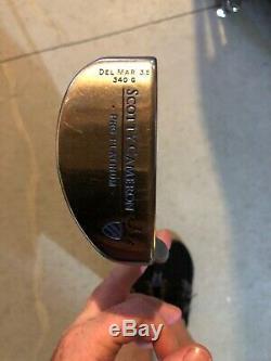 Titleist Scotty Cameron Del Mar 3.5 Putter 34 Limited 340g (2001 Pro Platinum)