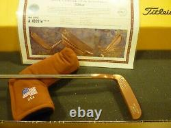 Titleist Scotty Cameron Gip Napa 1996 1st Of 500 Putter W Headcover Coa Rare