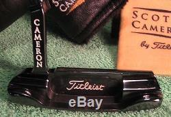 Titleist Scotty Cameron Golf Putter Newport Early Milled Gun Blue Excellent Rare