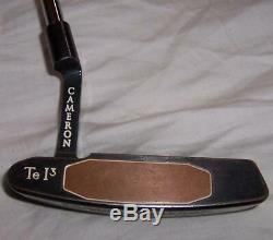 Titleist Scotty Cameron Left Hand Putter Te I3 Newport with Shoe LEFTY