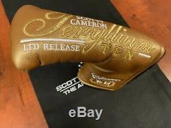 Titleist Scotty Cameron Newport 2 Teryllium Ten Special 1 of 35 pieces