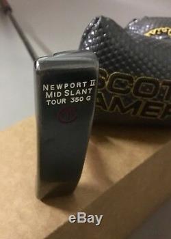 Titleist Scotty Cameron Newport II Mid Slant Tour 350g Circle T 36 Putter Golf