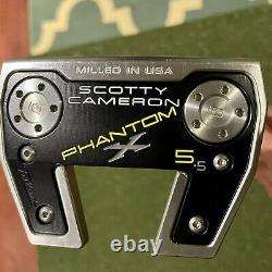 Titleist Scotty Cameron Phantom X 5.5 with Headcover 35