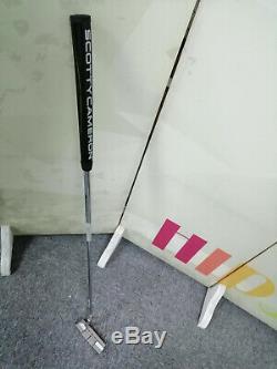 Titleist Scotty Cameron Select Golf Club Putter 2018 Newport 2 Right Hand 34