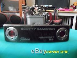 Titleist Scotty Cameron Select Newport 2.6 2012 Notchback Putter 35