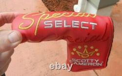 Titleist Scotty Cameron Special Select Newport putter 33 Brand New + H/C
