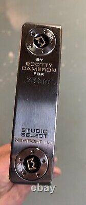 Titleist Scotty Cameron Studio Select Newport 2.5 Custom Shop Mint