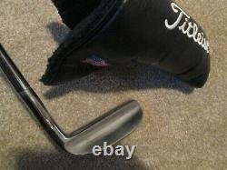 Titleist Tour Model Heel Shafted Classic Napa Putter Leather Scotty Cameron H/C