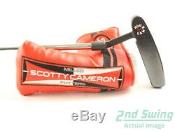 Tour Issue Titleist Scotty Cameron Circle T Newport Black Putter Right 34 + HC