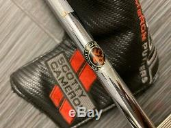 WOW RARE Scotty Cameron Select Golo S Golf Putter Center Shaft 35in + Headcover